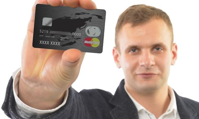 クレジットカード提出のサンプル画像